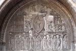 Cahors Saint Etienne Ascension Tympanum